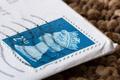 Картинка конверт, макро, марка