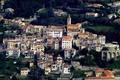 Картинка Франция, пейзаж, горы, дома, Конт