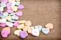 Картинка romantic, hearts, конфеты, love, sweet, candy