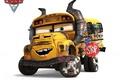 Картинка Disney, animated film, Pixar, school bus, Cars 3, animated movie, Cars, bus