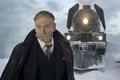 Картинка cinema, blizzard, snow, man, movie, train, film, suit, mustache, tie, Kenneth Branagh, Murder on the ...