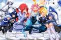 Картинка game, happy, bear, blizzard, neko, anime, cat, Grey, snow, asian, manga, Wendy, japanese, Fairy Tail, ...
