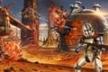 Картинка арт, солдаты, Jude Smith, битва, клоны, сражение, Star Wars, Звёздные войны, Battle of Geonosis, Clone ...