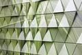 Картинка triangle, steel, background, texture, design, abstract, wall, треугольник