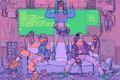 Картинка фантастика, будущее, Cyberpunk