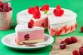 Картинка торт, малина, крем, мусс, десерт