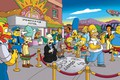 Картинка Симпсоны, Рисунок, Гомер, Мэгги, Maggie, Simpsons, Барт, Арт, Много, Лиза, Мультфильм, The Simpsons, Мардж, Карл, ...