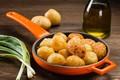 Картинка масло, картофель, лук