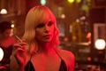Картинка cinema, Charlize Theron, Atomic Blonde, blonde, woman, face, movie, film