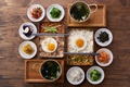 Картинка рис, ассорти, яичница