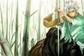 Картинка Bleach, меч, Хитсугая Тоуширо, арт, парень, аниме