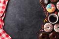 Картинка coffee, глазурь, donuts, пончики