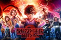 Картинка tv series, Natalia Dyer, David Harbour, Finn Wolfhard, Millie Bobby Brown, Noah Schnapp, Stranger Things, ...