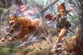 Картинка Fire Emblem, game, girl, Nintendo, bishojo, japonese, animal, asian