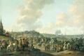 Картинка холст, Отплытие Карла II Английского из Схевенингена, масло, Хендрик де Мейер, картина