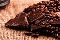 Картинка Темный, Шоколад, Кофейные зерна