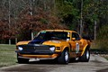 Картинка Boss 302, Ford Mustang, yellow, 1970, race car