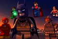Картинка Green Lantern, yuusha, mask, Justice League, animated movie, bat, DC Comics, animated film, Cyborg, Lego, ...