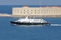 Картинка катер, ВМФ, связи, Черное море, Севастополь, КСВ-2155
