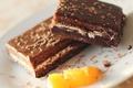Картинка еда, шоколад, десерт, крем, пирожное, сладкое