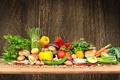 Картинка лук, грибы, специи, mushrooms, tomatoes, carrots, peppers, овощи, морковь, помидоры, перец, vegetables