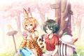 Картинка girl, Kemono Fiends, anime, bishojo, sakura, japanese