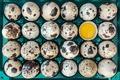 Картинка яйца, макро, 24 шт