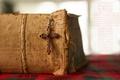 Картинка книга, крест, молитва