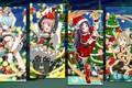 Картинка новый год, арт, Мастера меча онлайн, рождество, коллаж, аниме