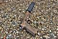 Картинка пистолет, M9A3, глушитель, Beretta