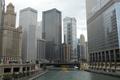 Картинка Мост, Чикаго, Здания, USA, США, Chicago, Bridge, Buildings