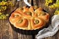 Картинка выпечка, пирог, оливки