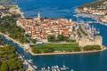 Картинка Trogir, Croatia, наследие ЮНЕСКО, море, город, Адриатика, Хорватия, Трогир
