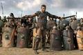 Картинка гладиаторы, Spartacus, Спартак, битва