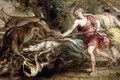 Картинка Охота Дианы, Pieter Paul Rubens, Питер Пауль Рубенс, картина, мифология