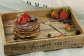 Картинка Strawberry, Клубника, Вилка, Ягоды