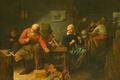 Картинка Сапожная Мастерская, Давид Рейкарт, интерьер, картина