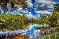 Картинка облака, пейзаж, природа, озеро