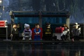 Картинка The Lego Batman Movie, Kal-El, mask, Robin, animated movie, bat, Bruce Wayne, film, animated film, ...