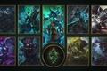 Картинка logo, League of Legends, by theladyclockwork, armor, Riot Games, Shadow Sisles, mahou, MOBA, helmet, wallpaper, ...