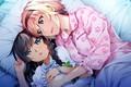 Картинка аниме, девушка, лежат, Grisaia: Phantom Trigger, девочка