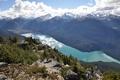 Картинка облака, Канада, небо, Cheakamus Lake, Уистлер, озеро, Canada, Whistler, British Columbia, горы