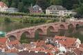 Картинка Панорама, Здания, Дома, Гейдельберг, Bridge, Panorama, Heidelberg, Германия, Мост, Germany, Река, River, Крыши