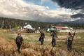 Картинка арт, солдаты, ферма, Far Cry 5