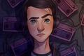 Картинка Clay Jensen, tv seies, Katherine Langford, 13 Reasons Why, by deoxydiamond, Dylan Minnette, Netflix, artwork