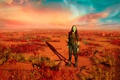 Картинка cinema, film, movie, Guardians Of Galaxy, Gamora, Guardians Of Galaxy Vol 2, Zoe Saldana