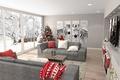 Картинка winter, christmas, christmas tree, new year, living room, zebra