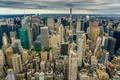 Картинка Manhattan, панорама, New York City