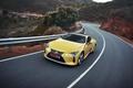 Картинка speed, car, Lexus, Lexus LC 500, yellow