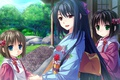 Картинка kawaii, anime, japanese, kimono, visual novel, bishojo, Tsukumo no Kanade